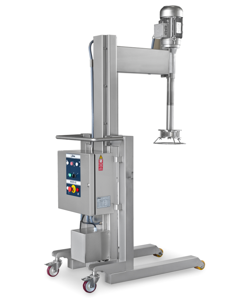 Nilma | Mixer HD - Turbofrantumatore Industriale - Attrezzature Ristorazione per Preparazione Cibi