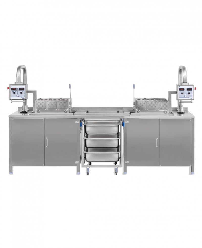 Nilma | FS - Friggitrice automatica a cesto traslabile - Attrezzature Ristorazione per la Cottura dei Cibi