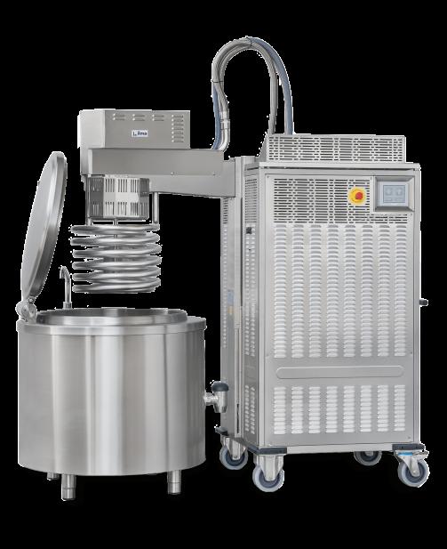 SPIRAL - Raffreddatore carrellato per prodotti liquidi