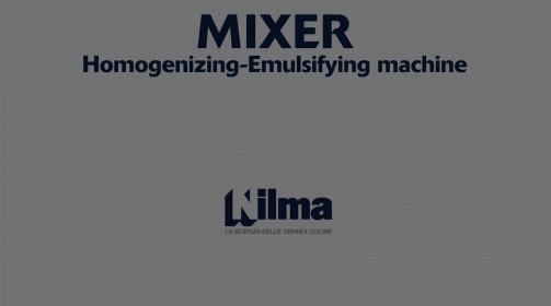 Mixer - HOMOGENIZER-EMULSIFIER
