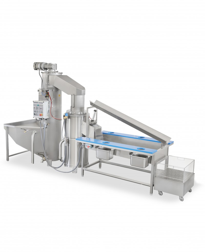 Nilma | Pioneer System - Automatic Potato Peeling - Industrial & Catering Equipment for Food Preparation