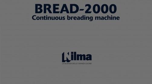 BREAD-2000- CONTINUOUS BREADING MACHINE Nilma