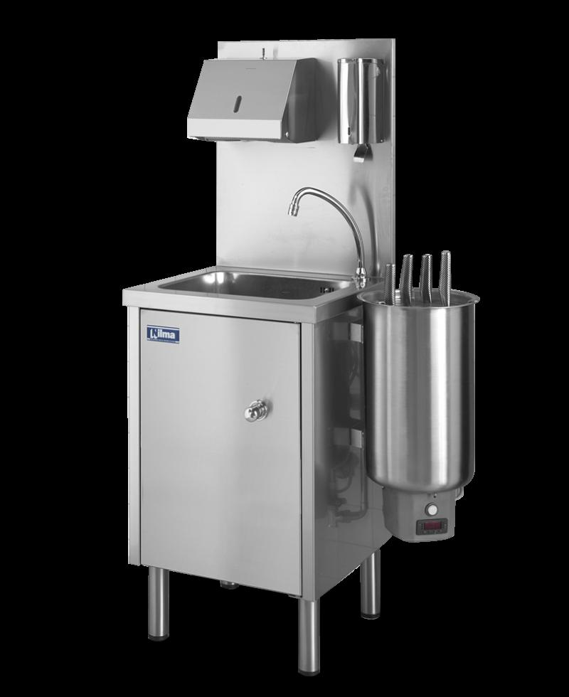 Nilma | KLINER - Lavamani e sterilizzatore per coltelli - Attrezzature Ristorazione per Preparazione Cibi
