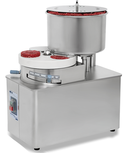 MS- automatic hamburger and meatball moulding machines Nilma
