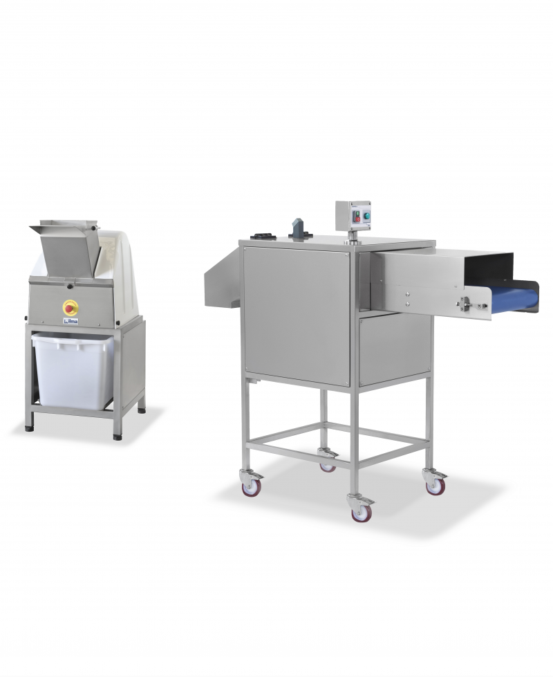 Nilma | Stripper - Leaf Vegetable Cutter - Industrial & Catering Equipment for Food Preparation