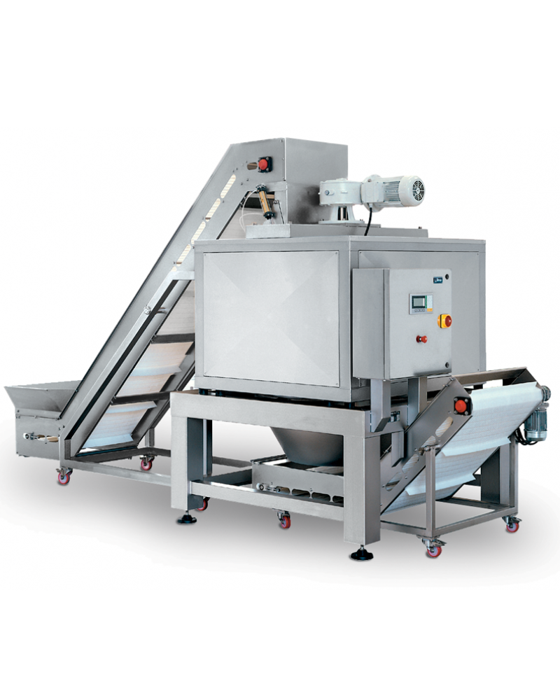 Nilma | Idromatic - Continuous Vegetable Spin Dryer - Industrial & Catering Equipment for Food Preparation