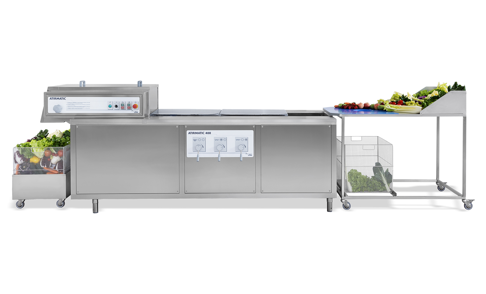 Atirmatic- CONTINUOUS VEGETABLE WASHER Nilma