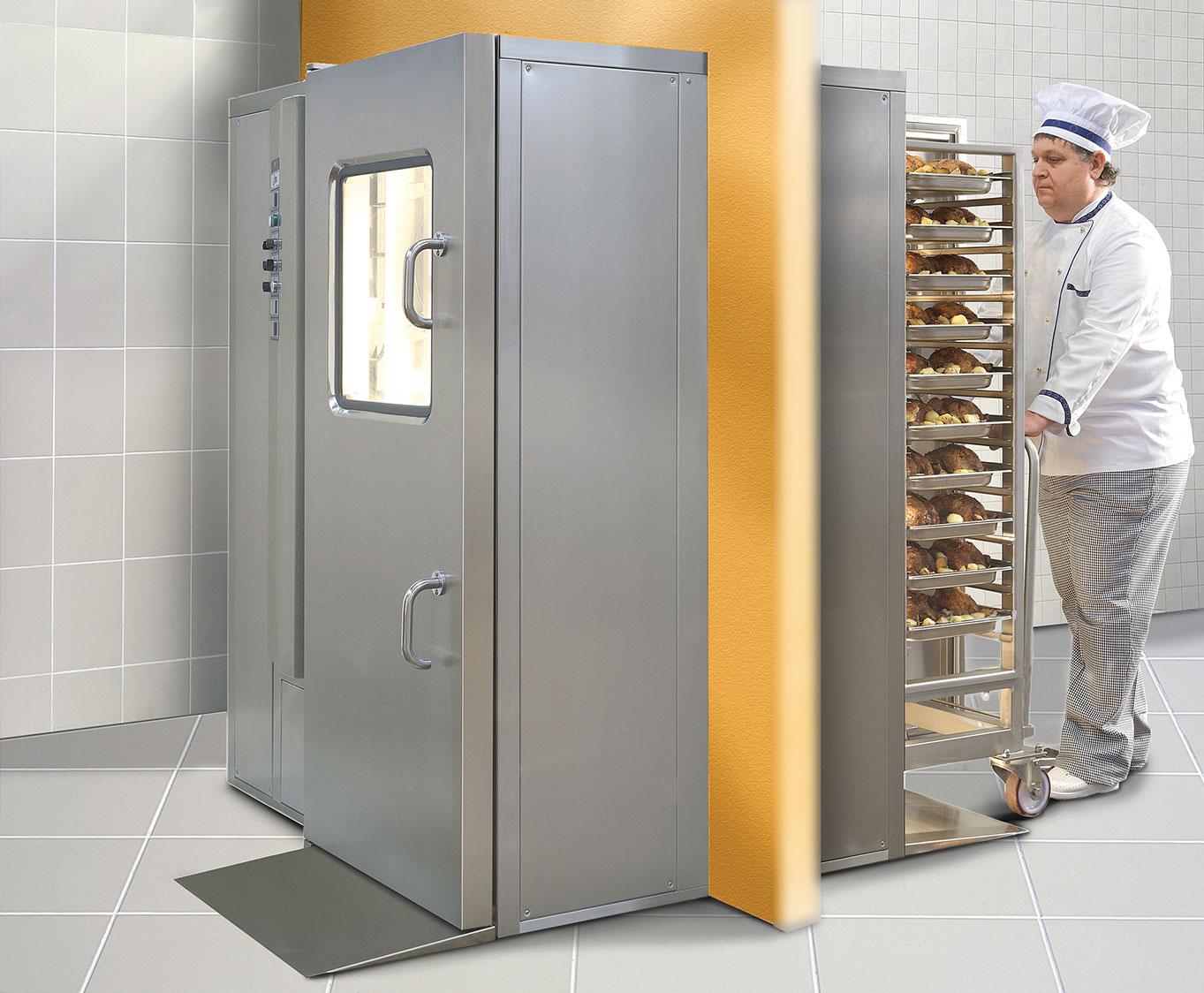 KSP 40 pass-through combi oven Nilma