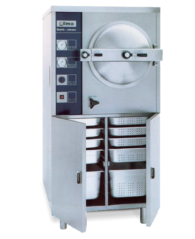 Nilma   Quick Steam - Automatic Steam Cooker - Industrial & Catering Equipment for Cooking Food