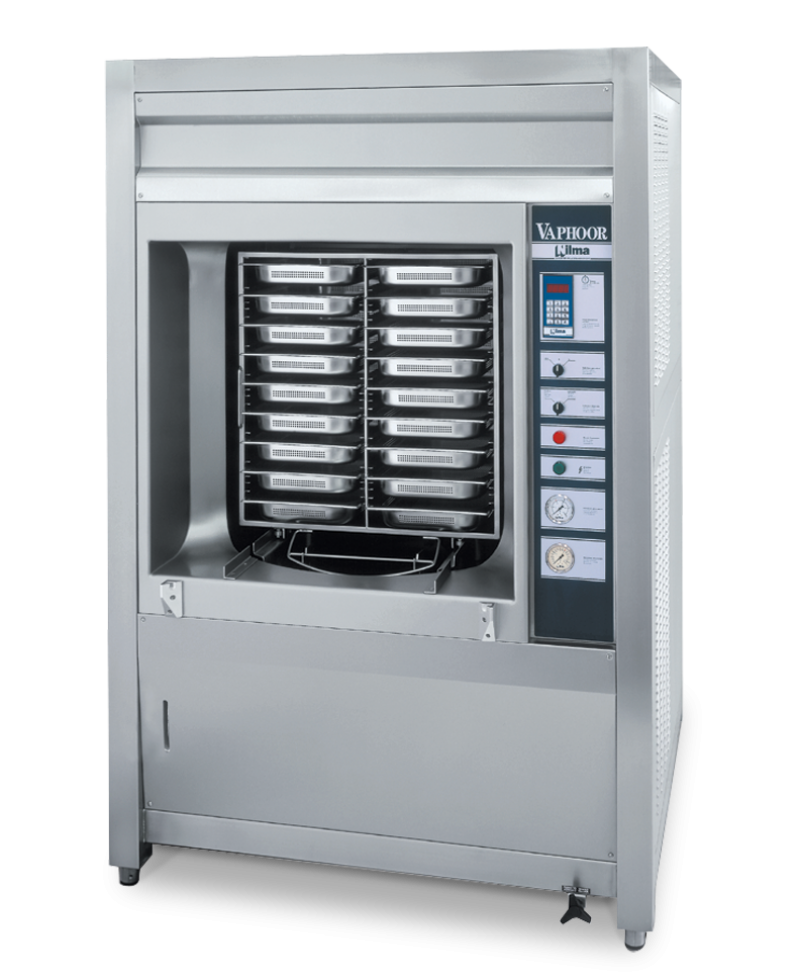Nilma | Vaphoor - Automatic pressurized steam cooker - Industrial & Catering Equipment for Cooking Food