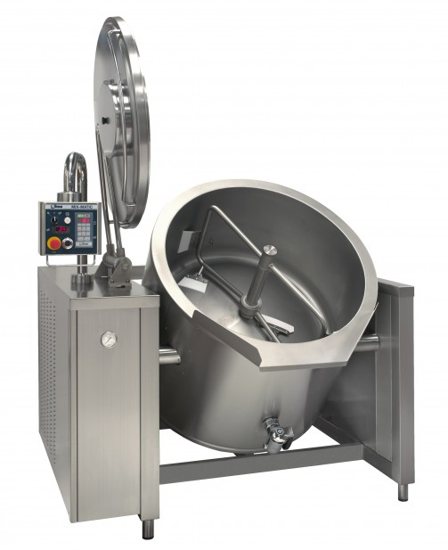 MIX-MATIC - TILTING PAN WITH MIXING SYSTEM Nilma
