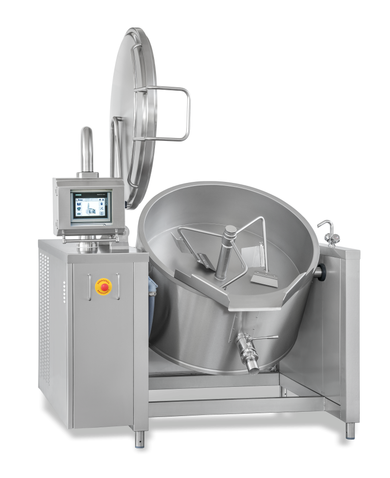 Nilma | Salsamat - Tilting Automatic Braising Pan - Industrial & Catering Equipment for Cooking Food