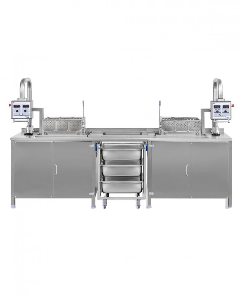 Nilma   FS - Freidora Automática Con Cesta Trasladable - Equipos Restauración Para La Cocción De Comidas