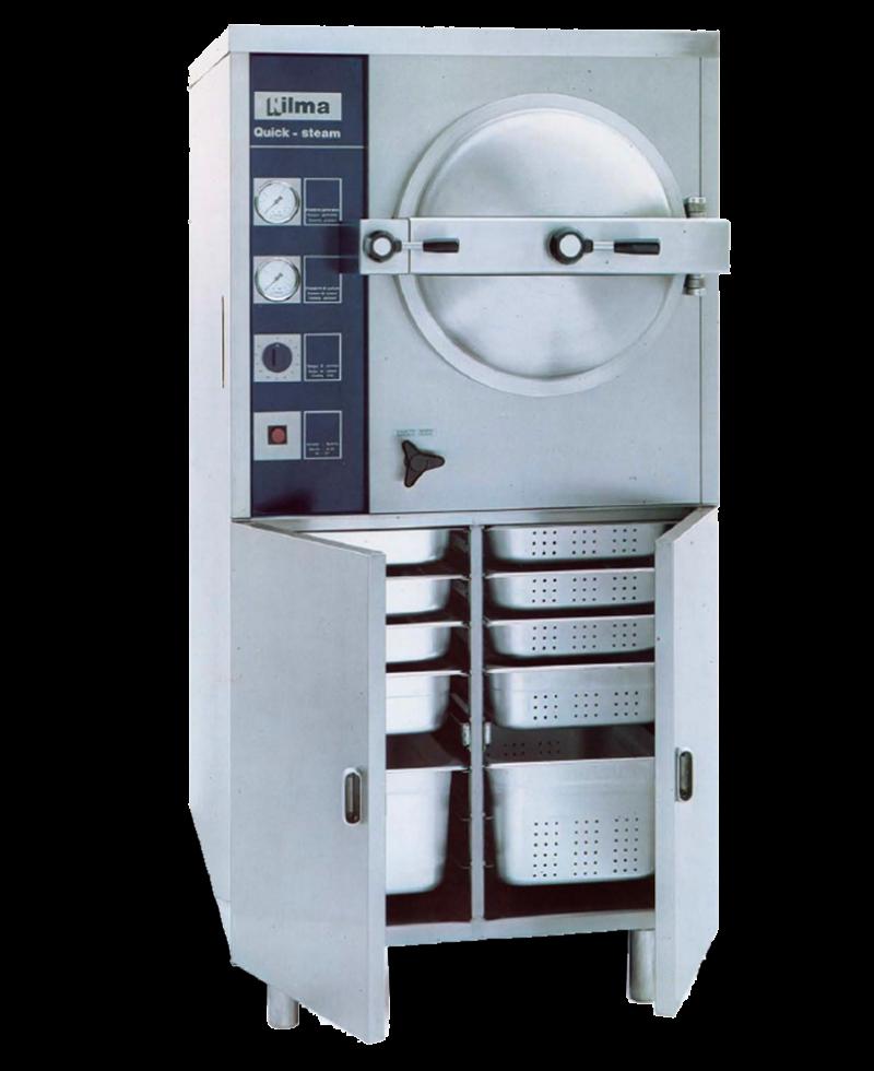 Nilma | Quick Steam - Cocedor Automático A Vapor - Equipos Restauración Para La Cocción De Comidas
