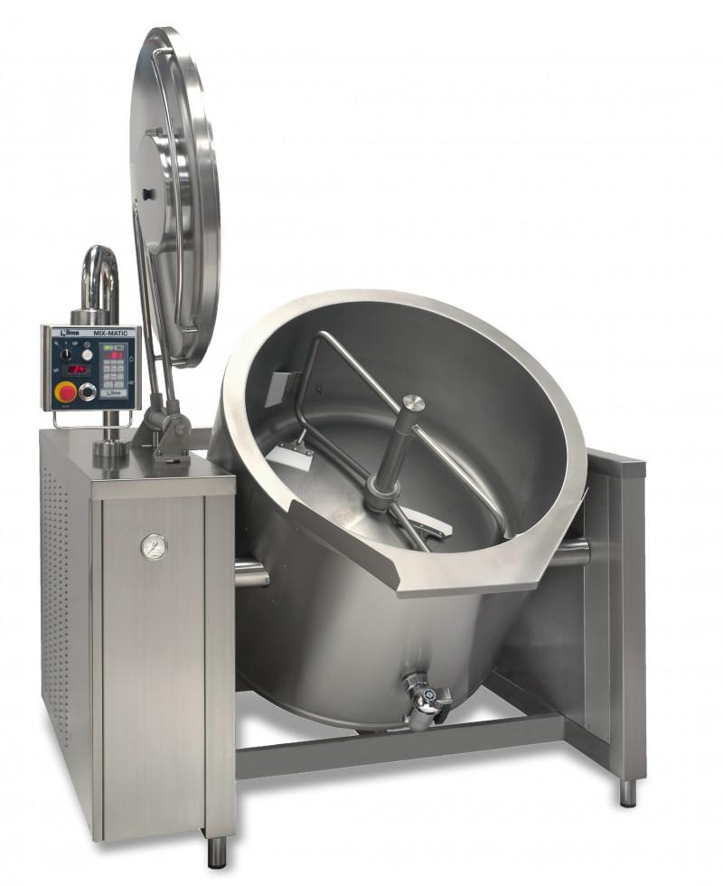 Nilma | Mix-Matic - Marmita Basculante Con Mezclador - Equipos Restauración Para La Cocción De Comidas